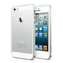 Бампер SGP Neo Hybrid EX Slim Metal Series для Apple iPhone 5/5S (+ пленка)