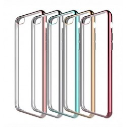 """Чехол для iPhone 7 plus (5.5"""") с глянцевой окантовкой"""