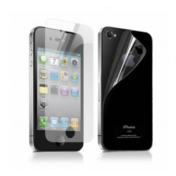 Комплект защитных пленок для iPhone 4/4S