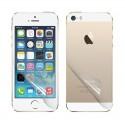 Комплект защитных пленок для iPhone 5/5S